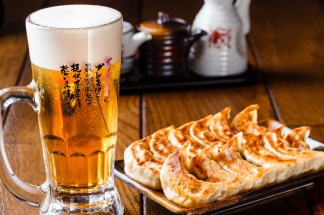 ダンダダン酒場 餃子 ビール