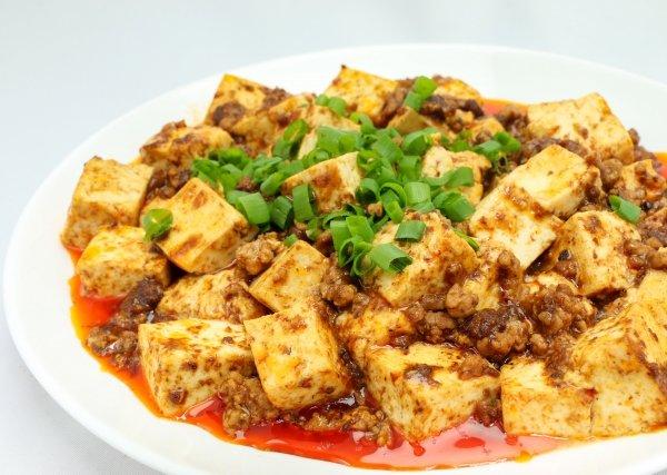 中華料理 麻婆豆腐